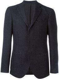текстурированный пиджак на три пуговицы Borrelli