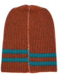 шапка-бини с полосками Raf Simons
