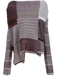 блузка в стиле пэчворк  Vivienne Westwood