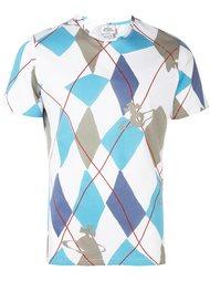футболка с ромбовидным принтом Vivienne Westwood Man