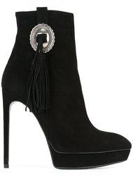 ботинки по щиколотку 'Janis' Saint Laurent