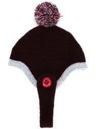 шапка с помпоном Minjukim