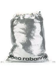 рюкзак с пайетками Paco Rabanne