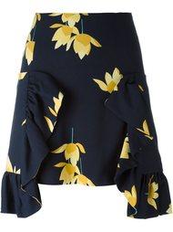 юбка с цветочным принтом  Marni