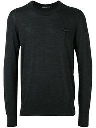 свитер с аппликацией  Dolce & Gabbana