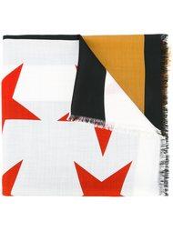 платок в полоску со звездами Givenchy