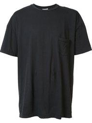 футболка с нагрудным карманом John Elliott