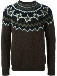 свитер с узором Neil Barrett