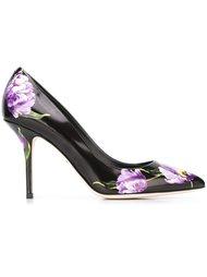 туфли-лодочки с принтом тюльпанов Dolce & Gabbana
