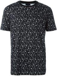 футболка с узором Lanvin