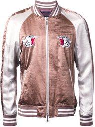 куртка-бомбер с контрастными рукавами  Guild Prime