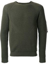 свитер с карманом на рукаве  08Sircus