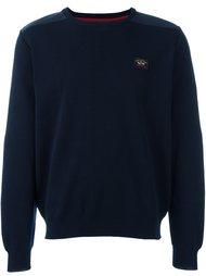 свитер с логотипом  Paul & Shark