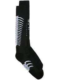 вязаные носки  Unravel