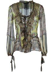 блузка с рюшами Etro