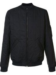 стеганая куртка-бомбер  A.P.C.