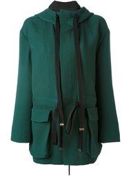 пальто с капюшоном Marni
