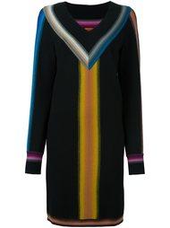 вязаное платье c V-образным вырезом  Missoni