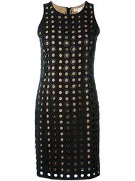 перфорированное платье  Michael Michael Kors