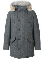 куртка с меховой отделкой  Woolrich