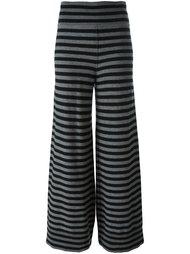 трикотажные брюки в полоску Sonia Rykiel