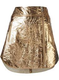 мини-юбка с мятым эффектом McQ Alexander McQueen