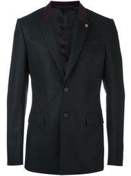 пиджак с контрастным воротником Givenchy