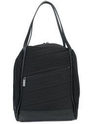 плиссированная сумка-тоут с двойными ручками Pleats Please By Issey Miyake