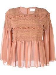 прозрачная блузка с рюшами See By Chloé