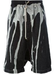 джинсовые шорты 'Pod' Rick Owens