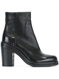 ботинки на массивном каблуке  Pantanetti