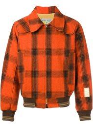 куртка-бомбер в клетку Walter Van Beirendonck Vintage
