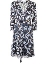 платье с геометрическим принтом Diane Von Furstenberg