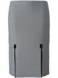 юбка-карандаш в ломаную клетку Alexander Wang