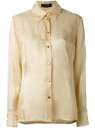 классическая рубашка Jean Louis Scherrer Vintage