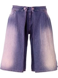 джинсовые шорты  Walter Van Beirendonck Vintage