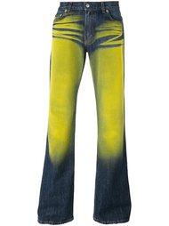 джинсы с бархатным эффектом Walter Van Beirendonck Vintage