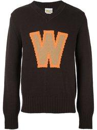 свитер с логотипом  Walter Van Beirendonck Vintage