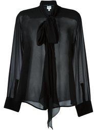 блузка с бантом  Armani Collezioni