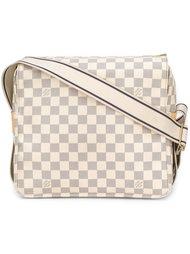 сумка на плечо в клетку с монограммой Louis Vuitton Vintage