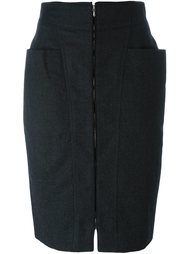 юбка на молнии Gianfranco Ferre Vintage