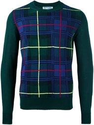 свитер в клетку  Comme Des Garçons Shirt Boy