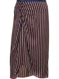 юбка с драпированными деталями  Diane Von Furstenberg