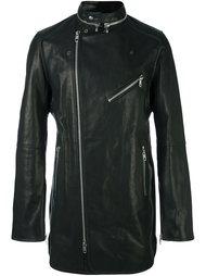 удлиненная байкерская куртка Diesel Black Gold