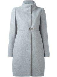 пальто с высоким воротником  Fay