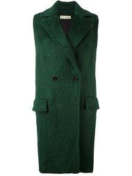 двубортное пальто  Marni