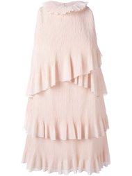 платье с оборками  Giamba