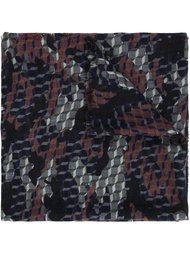 платок с геометрическим узором Pierre Hardy