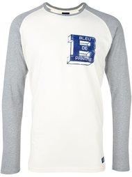 футболка с рукавами реглан Bleu De Paname