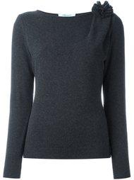 свитер с вырезом-лодочкой Blumarine